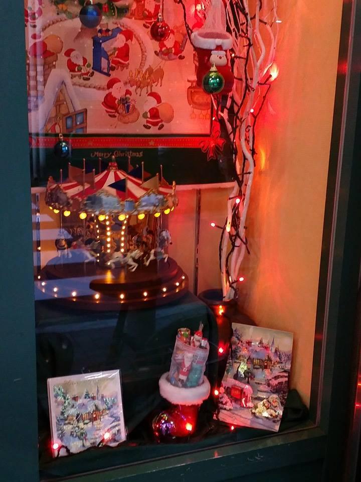 クリスマス ショーウィンドウ